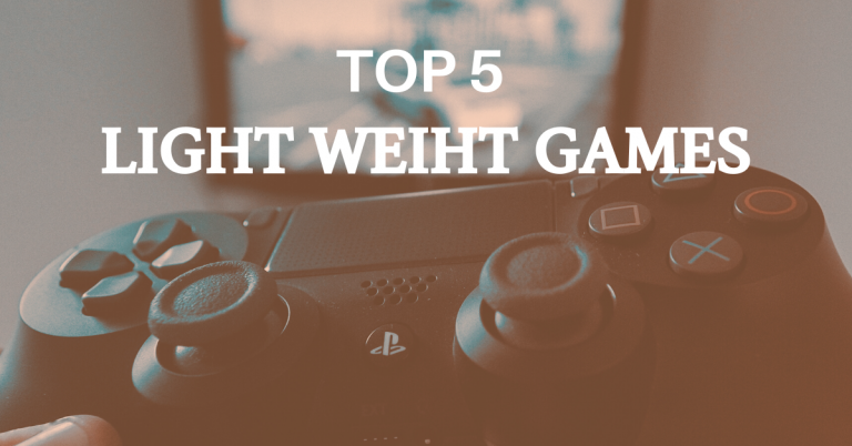 Top 5 Best Light Weight Games For Android Device