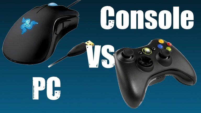 Console or PC for gaming?